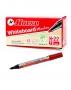 ปากกาไวท์บอร์ด หัวกลม สีแดง ตราม้า